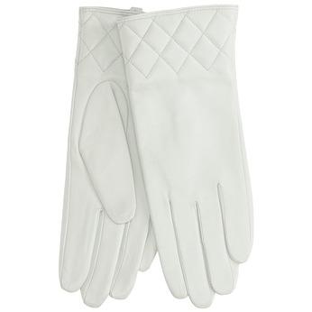 Białe skórzane rękawiczki damskie bata, biały, 904-1131 - 13